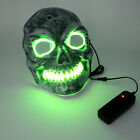 Halloween LED Glowing Mask Party Helloween Mask Santo Face Children's Toys