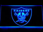 7 COLORS Oakland Raiders LED Neon Light Sign Display NFL Fan Home Decor Gift