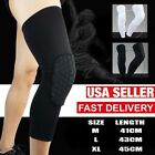 Kyпить Youth Pad Honeycomb Leg Support Knee Sleeve Brace Sports Support Basketball на еВаy.соm