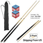 """57"""" sports Cue Sticks Hardwood Billiard House Pool Cue with carrying case"""