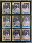 1987 O-PEE-CHEE #155 NOLAN RAYN LOT OF 9 CARDS