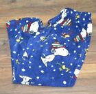 SNOOPY  WOODSTOCK FLEECE LOUNGE PANTS Briefly Stated PJ Bottoms Peanuts