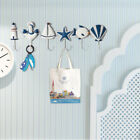 Iron Sea Starfish Wall Hook Hat/Key Ring/Bath/Beach Towel Holder Nautical