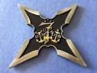 "Navy Chief 3"" USS Chief FDNF-J Antique Ninja Style CPO Challenge Coin"