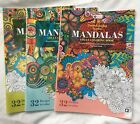 Karmin Creation Set Of 3 Mandalas Adult Coloring Books