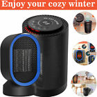 Electric Portable CERAMIC Space Heater 1200 Watt Small Compact Space Heating Fan