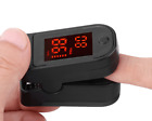 Finger Tip Pulse Oximeter SpO2 Heart Rate monitor blood Oxygen Meter Sensor CA