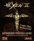 HEXEN 2 AUTHORIZED GUIDE (OFFICIAL STRATEGY GUIDES) By Bradygames **Excellent**