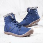Winter Mens Snow Boots Shoes Outdoor Casual Shoes Waterproof Warm Lined Boots