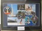 NASA Space Shuttle Final Flight Flown Patch Presentation STS-133 STS-134 STS-135