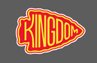 Kansas City Chiefs Kingdom Arrowhead NFL Football Vinyl Car Truck Laptop Decal $9.00 USD on eBay