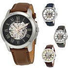 Fossil Automatic Grant Leather Men's Watch image