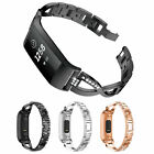 Rhinestone Stainless Steel Watch Wrist Strap Band for Fitbit Charge3 Smart Watch image