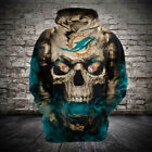 Miami Dolphins Hoodies Hooded Pullover Sweatshirts Fan Football coat Team NFL on eBay