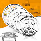 Stainless Steel Steamer Rack Insert Stock Pot Steaming Tray Stand Practical New