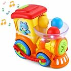 JOYIN Baby Activity Center Baby Pitch Go Ball Rolling Train Toys Infant Toy Ca