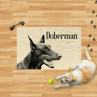 Microfibre Dog Towel - Doberman Pet Puppy Drying Blanket - Small and Large