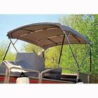 """Deluxe Pontoon Bimini 96"""" W X 56"""" H X 8' Length in Seven Different Colors"""