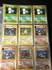Old Pokmeon Holographic Card Lot