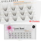 False Eyealshes  Individual Eye Lashes Extension Natural Volume Mink Fur