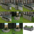 Gabion Planter Steel Hexagonal/Retangle Plant Basket Outdoor Garden Planter