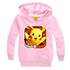 Kid Boy Girl Long Sleeve Hoodies Sweatshirt  Hooded Tops T-shirt Outfits Clothes