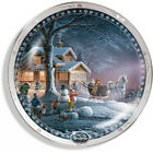 Winter Wonderland Collector Plate by Terry Redlin. Wild Wings. Delivery is Free