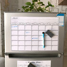 Внешний вид - MAGNETIC DRY ERASE CALENDAR Board Wall Monthly Time Planner Whiteboard PipBLUS
