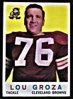1959 Topps #60 Lou Groza Clevelad Browns