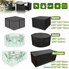 Extra Large Garden Rattan Outdoor Furniture Cover Patio Table Protection Shelter