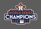 Houston Astros 2017 World Series Champions Vinyl Decal on Ebay
