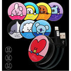 BTS BT21 Official Retractable 2-in-1 Micro USB Type-C Lightning to USB A Cable