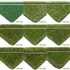 Artificial Grass 2m & 4m Widths Quality Fake Lawn Garden Realistic Natural Turf
