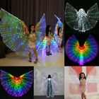 Adults Kids Egypt LED Isis Wings Belly Dancing Dance Costume Light up Wing Stick