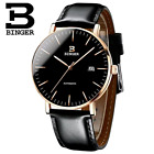 Switzerland BINGER Mens Watches Luxury Brand automatic mechanical Men Watch