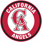 Los Angeles Angels of Anaheim CA logo Circle Logo Vinyl Decal  Sticker 5 sizes!! on Ebay