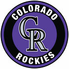 Colorado Rockies Circle Logo Vinyl Decal / Sticker 5 sizes!! on Ebay