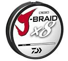 Внешний вид - Daiwa J-Braid X8 Braided Fishing Line - 330 Yards (300 M) White Line