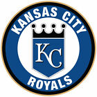Kansas City Royals logo Circle Logo Vinyl Decal  Sticker 5 sizes!! on Ebay