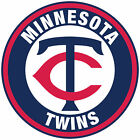 Minnesota Twins logo Circle Logo Vinyl Decal  Sticker 10 sizes!! on Ebay