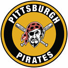 Pittsburgh Pirates logo Circle Logo Vinyl Decal  Sticker 5 sizes!!