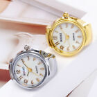 Arabic Dial Quartz Analog Watch Creative Steel Elastic Quartz Finger Ring Watch