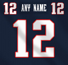 New England Patriots NFL Football Jersey Any Name Any Number Pro Lettering Kit $49.99 CAD on eBay