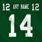 New York Jets NFL Football Jersey Any Name Any Number Pro custom Lettering Kit $29.99 CAD on eBay