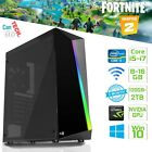 Gaming Pc Fast Quad Core I7 Gtx 1650 16gb Ram 2tb Windows 10 Desktop Computer
