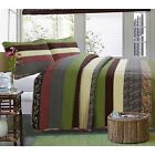 SandpiperCove 100%Cotton 3-Piece Quilt Set, Bedspread, Coverlet image