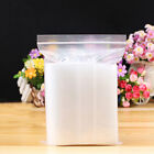 Grip Seal Self Resealable Poly Bags Plastic Clear Bag * Various Size *
