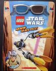 LEGO Star War Anakin Space PIlot 3 D Book w/ Glasses  by Scholastic New