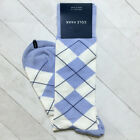 Cole Haan Men's Socks Crew Trouser Dress Striped Combed Cotton Blend