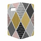 Phone Flip Wallet Case Cover Retro Geometric Pattern - S9143